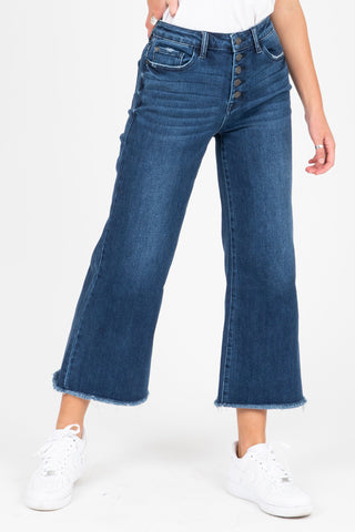 Levi's: Ribcage Straight Ankle Jeans in Haight at the Ready
