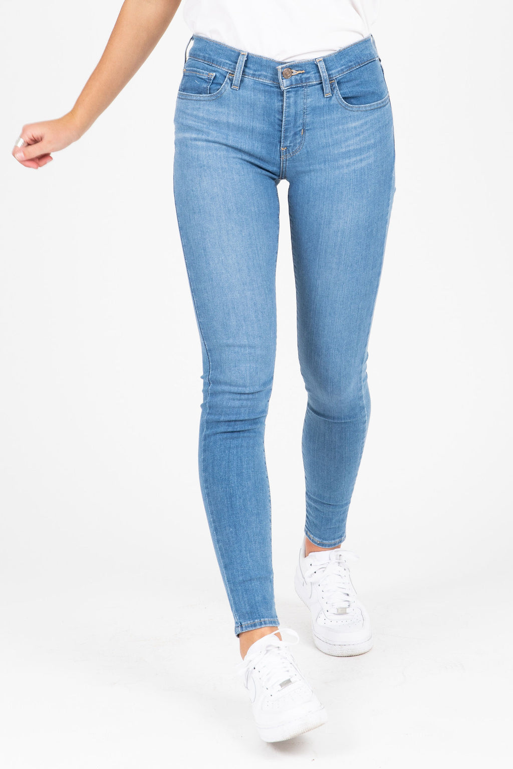 Levi's: 710 Super Skinny Jeans in Quebec Charm