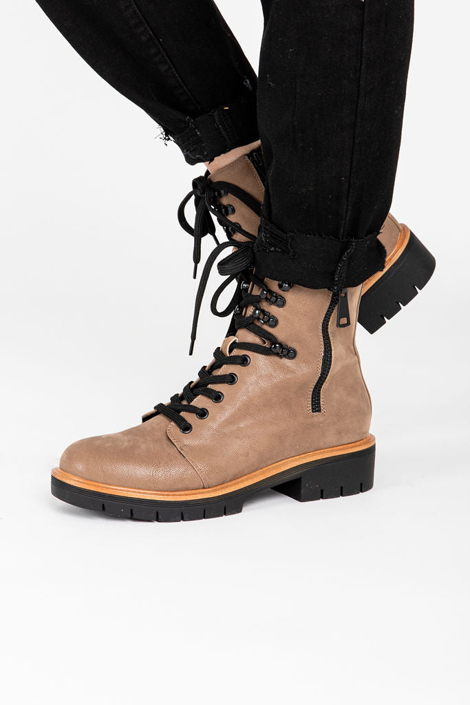 MIA: The River Boot in Taupe