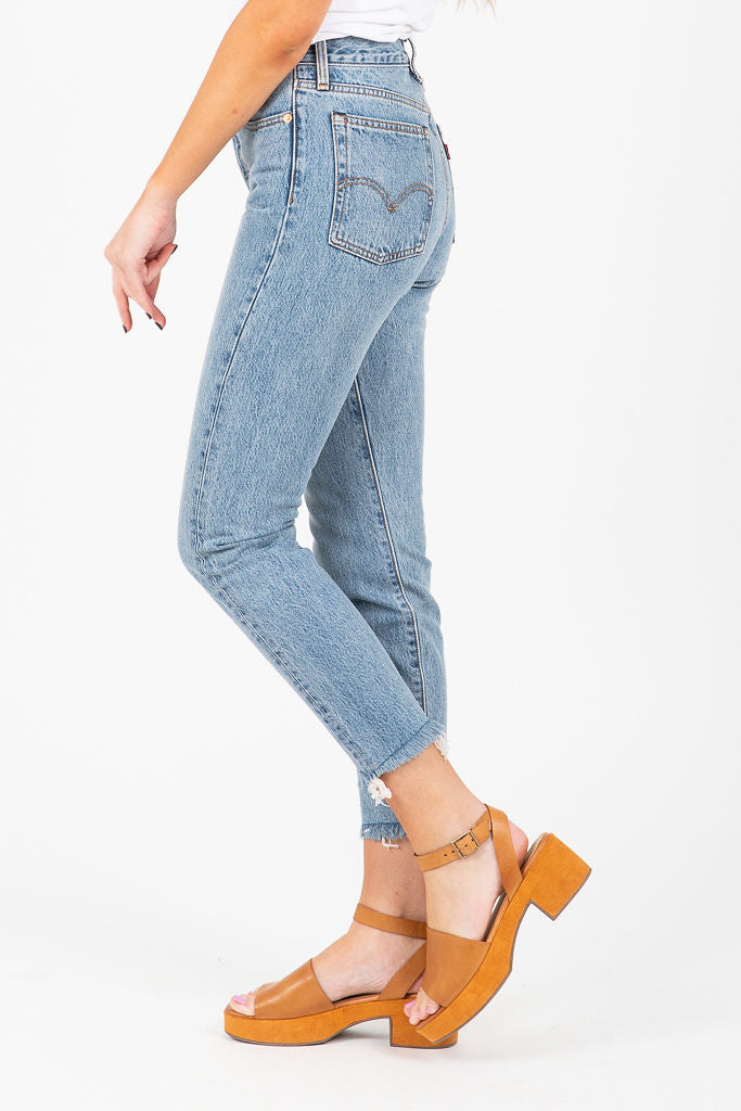 Levi's: Wedgie Icon Fit Jeans in Shut Up