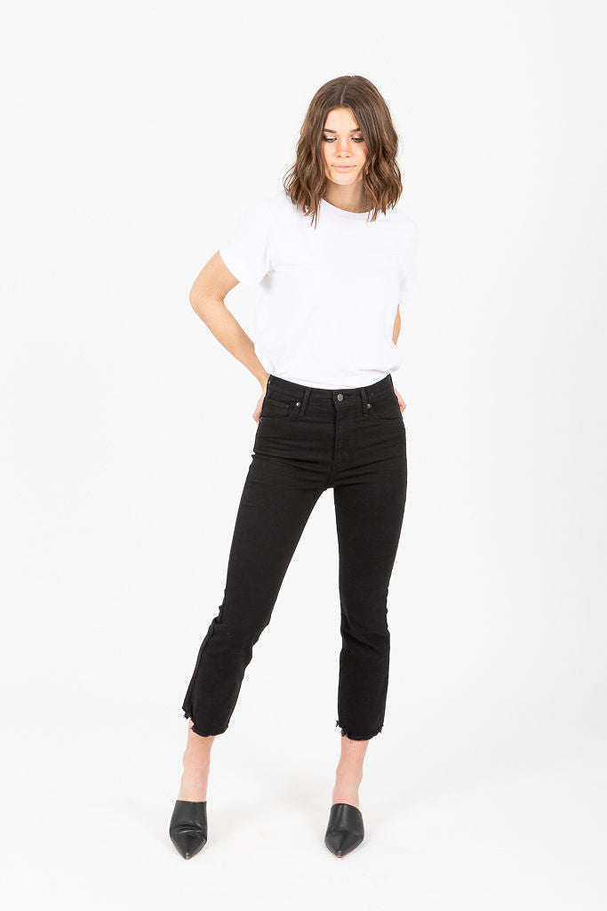 Levi's: Mile High Crop Flare in Pardon My French
