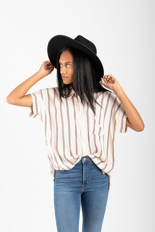 Levi's: Betty Shirt in Black Dot