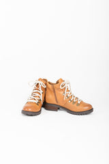 Steve Madden: Lora Boot in Cognac Leather
