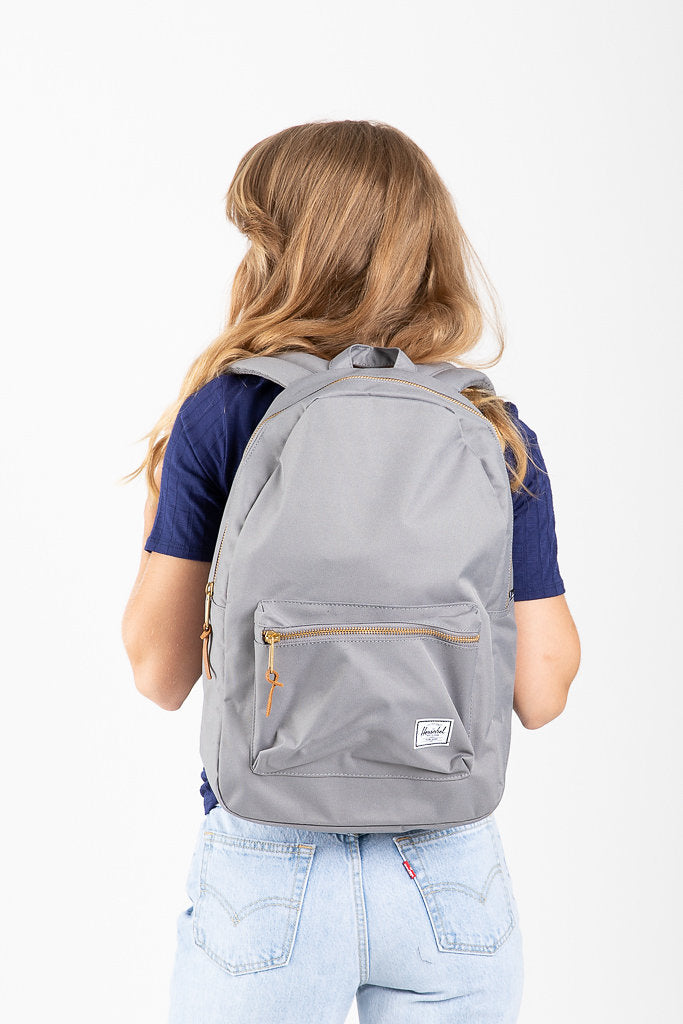 b18d665cf4 Herschel  Settlement Backpack in Grey – Piper   Scoot