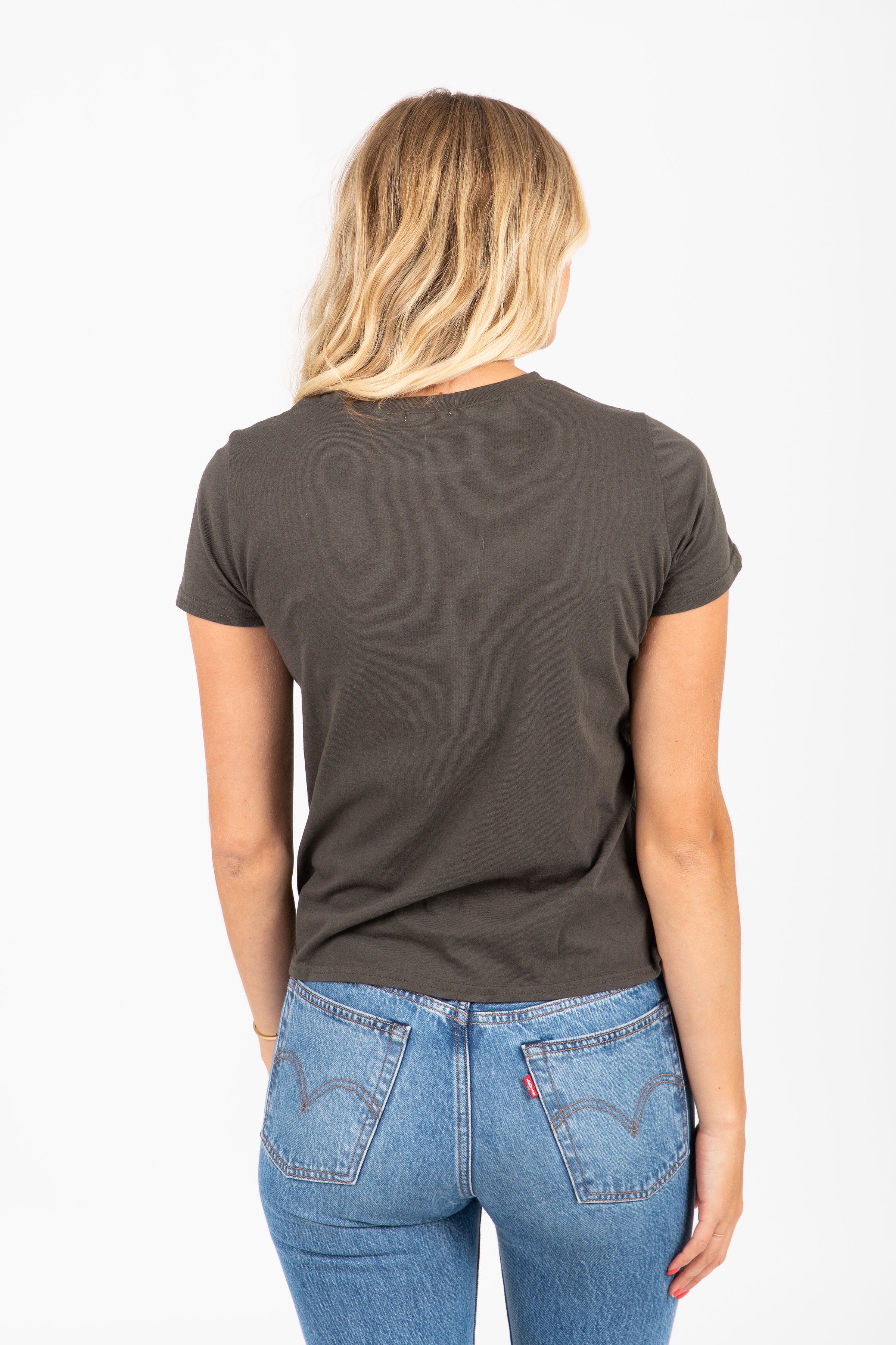 The Lucan NYC Tee in Charcoal