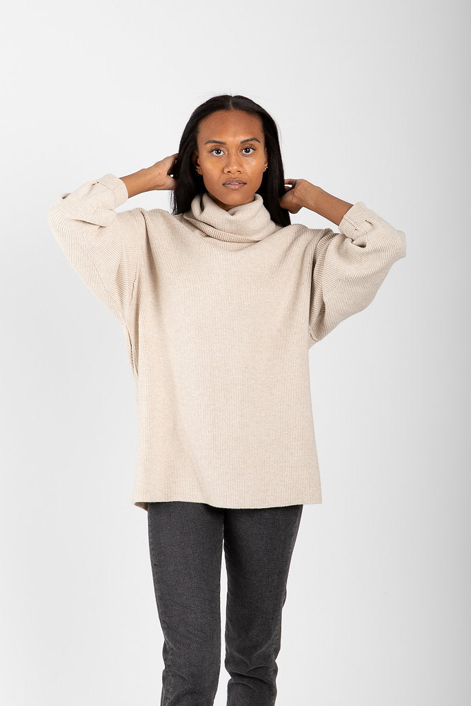 28fe08309010 Free People: Softly Structured Tunic in Oatmeal Heather – Piper & Scoot