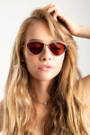 Le Specs: Semi-Charmed Sunglasses in Platinum
