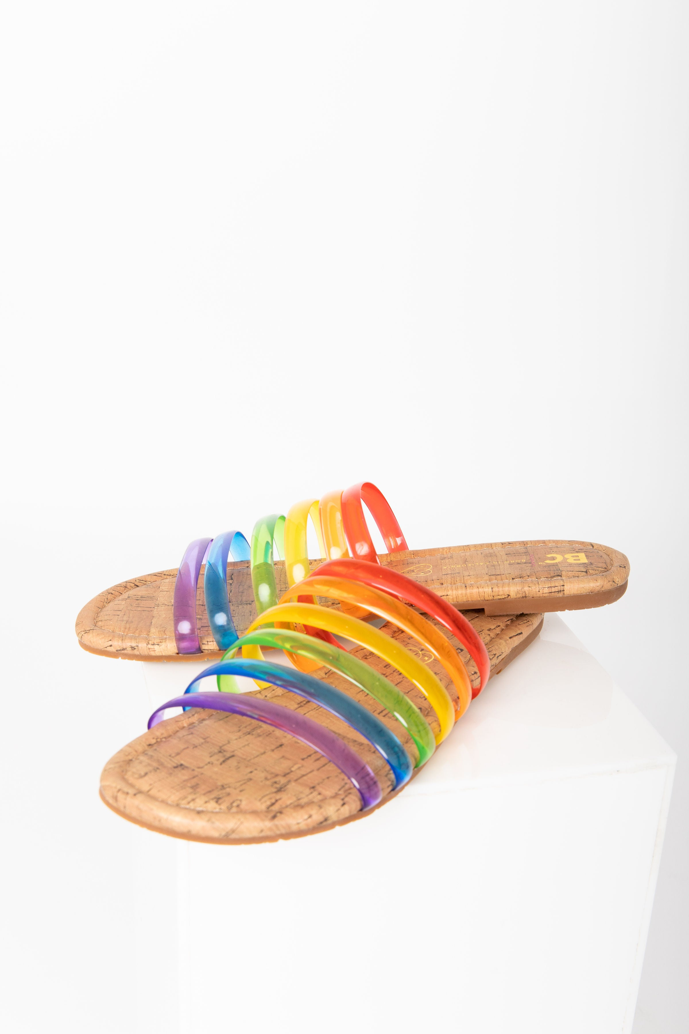 BC: For You II Sandals in Pride Multi