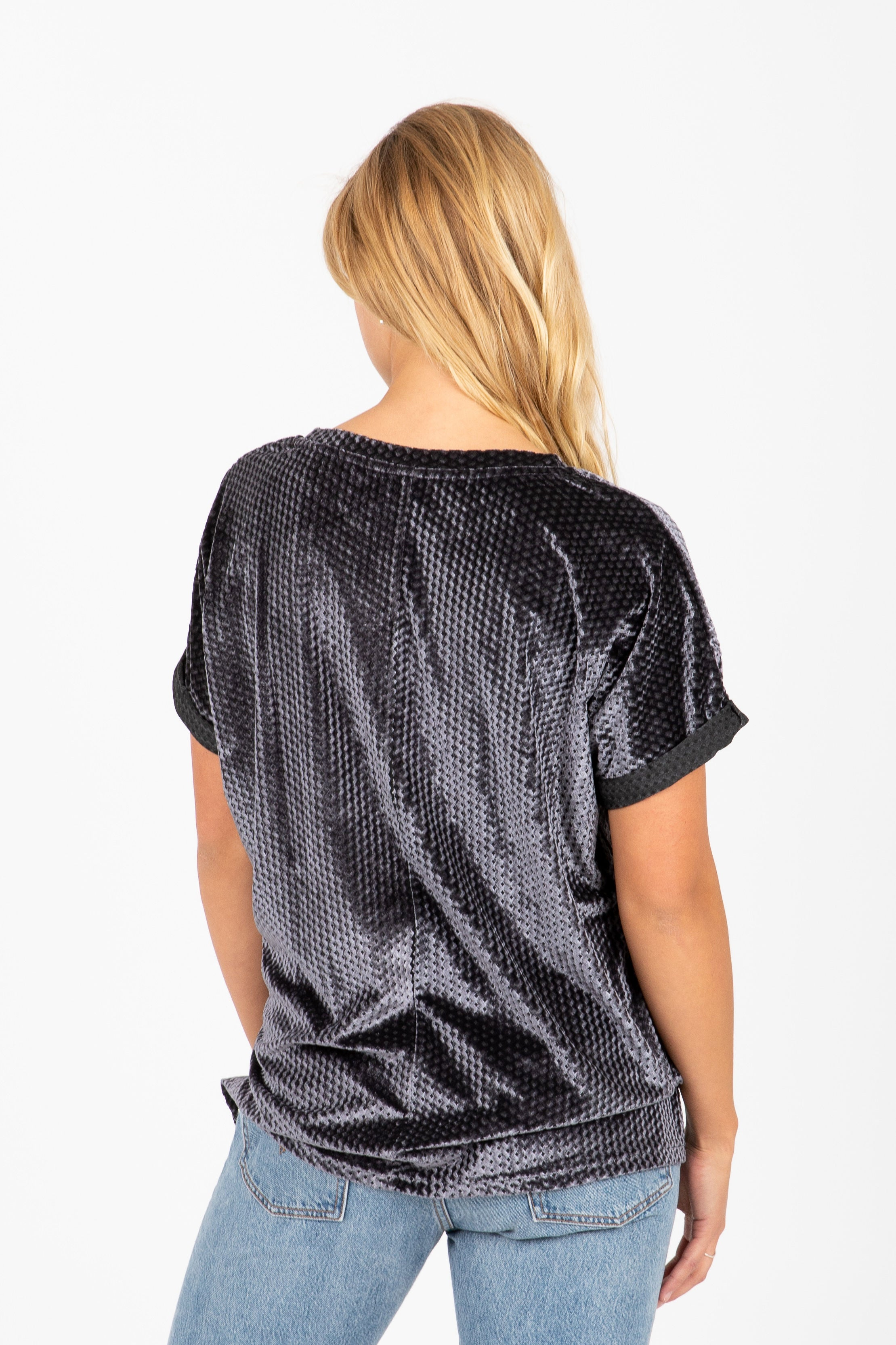The Lion Reflective Blouse in Slate