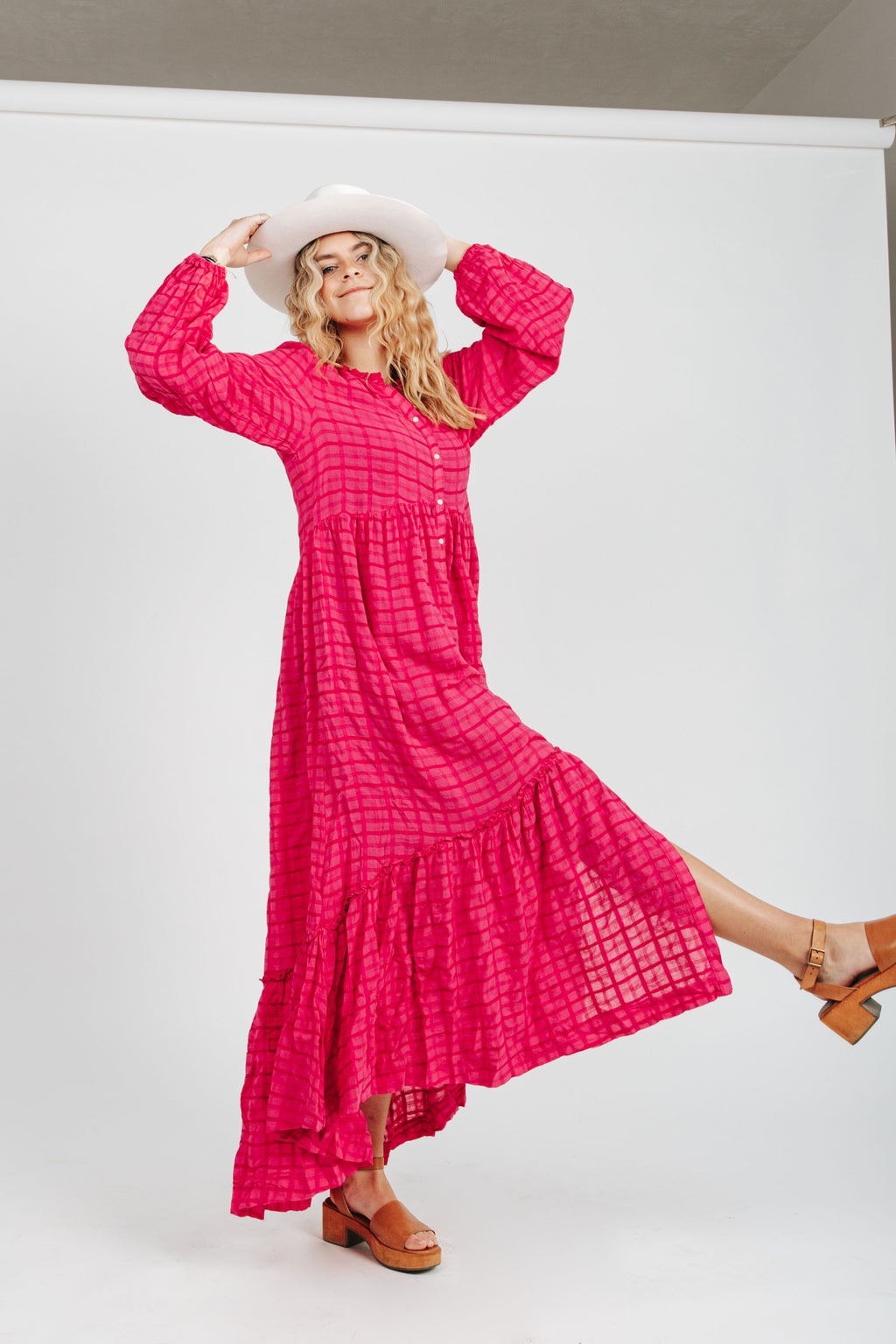 Free People: Edie Dress in Viola