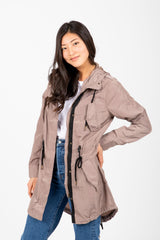 The Dakota Anorak Jacket in Mocha