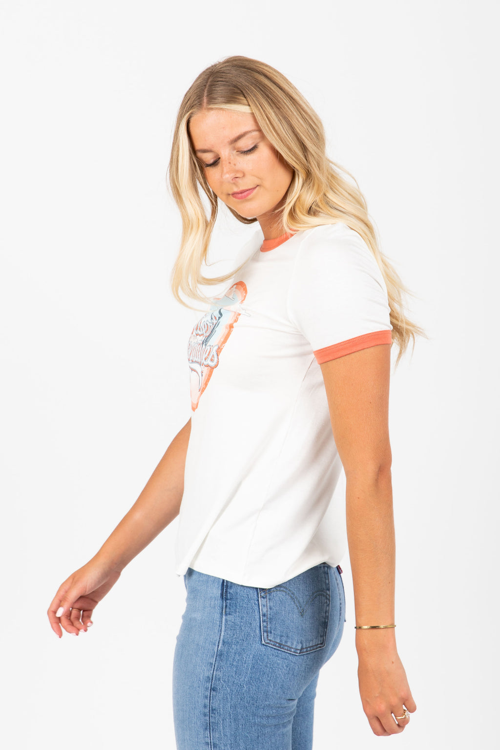 The Desert Adventures Graphic Tee in White