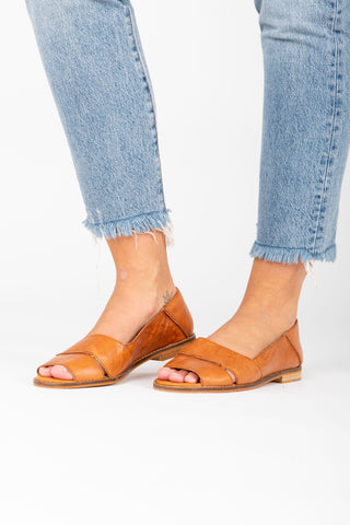 Free People: Coronada Slip-On Flat in Blush