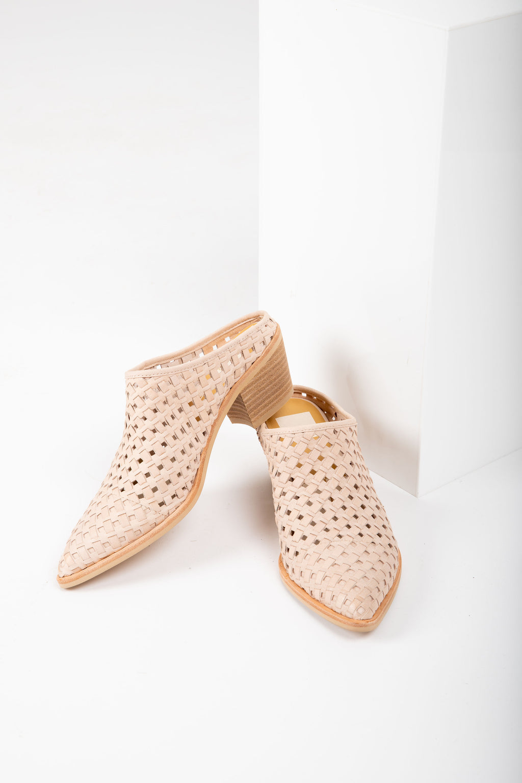 Dolce Vita: Sayer Booties in Sand