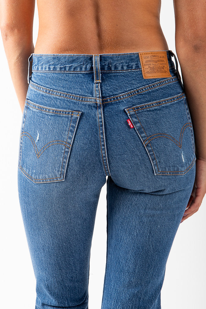Levi's: Wedgie Fit Jeans in Higher Love