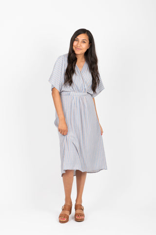 Piper & Scoot: The Prodigy Cotton Midi Dress in Olive