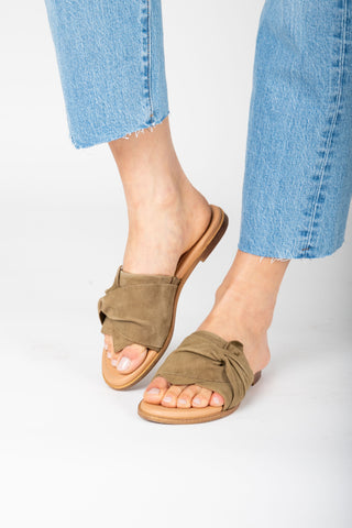 Coconuts by Matisse: Cabana Slide Sandal in Bronze