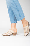 Sorel: Nadia Heel Sandal in Camel Brown