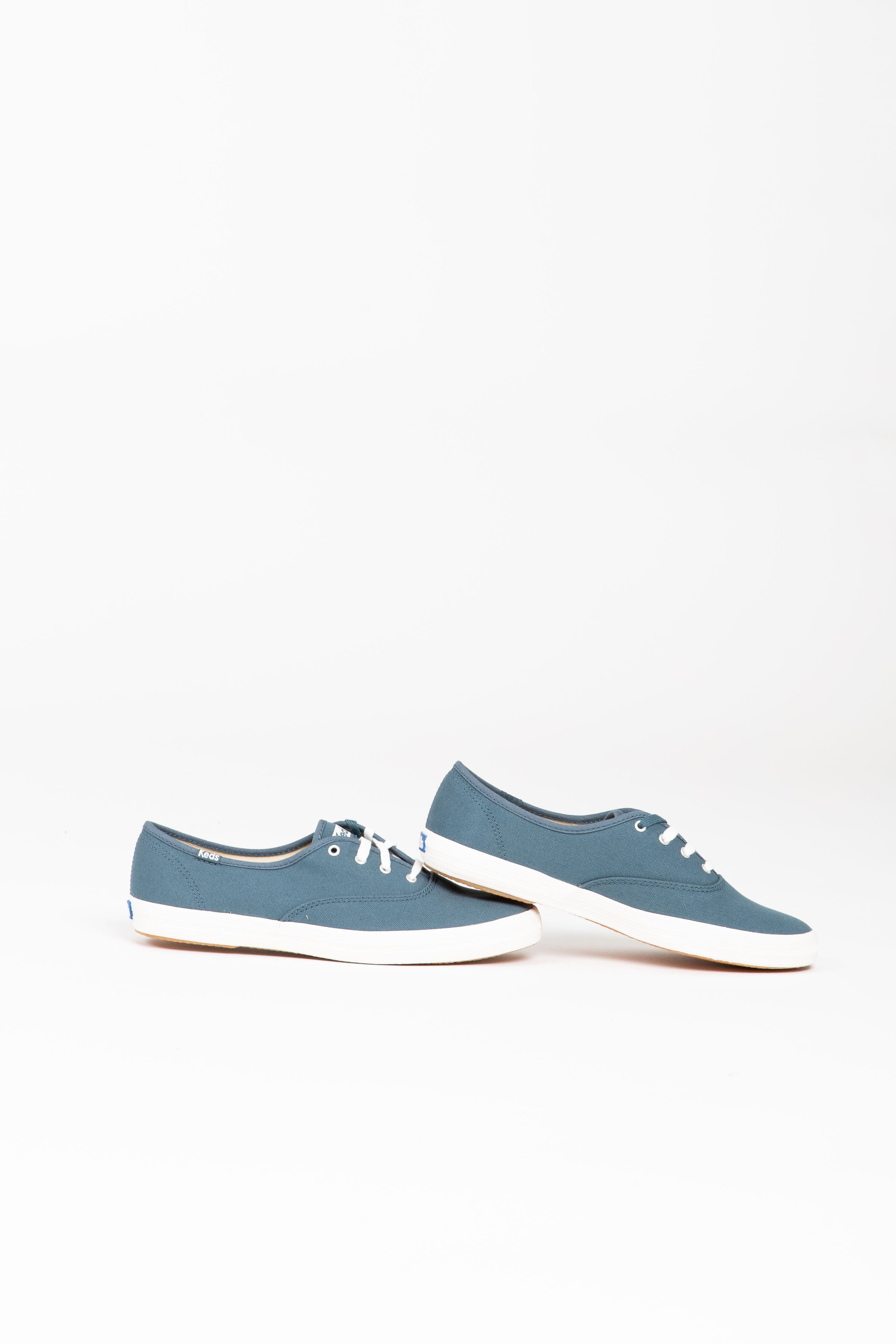 Keds: Women's Champion Spring Solids Sneaker in Dark Teal