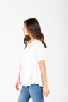 Levi's: Logo Perfect Graphic Tee in White Cactus