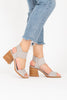Sorel: Nadia Heel Sandal in Dove