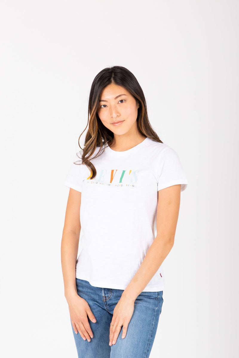 Levi's: Blank Perfect Tee in Multi, studio shoot; front view