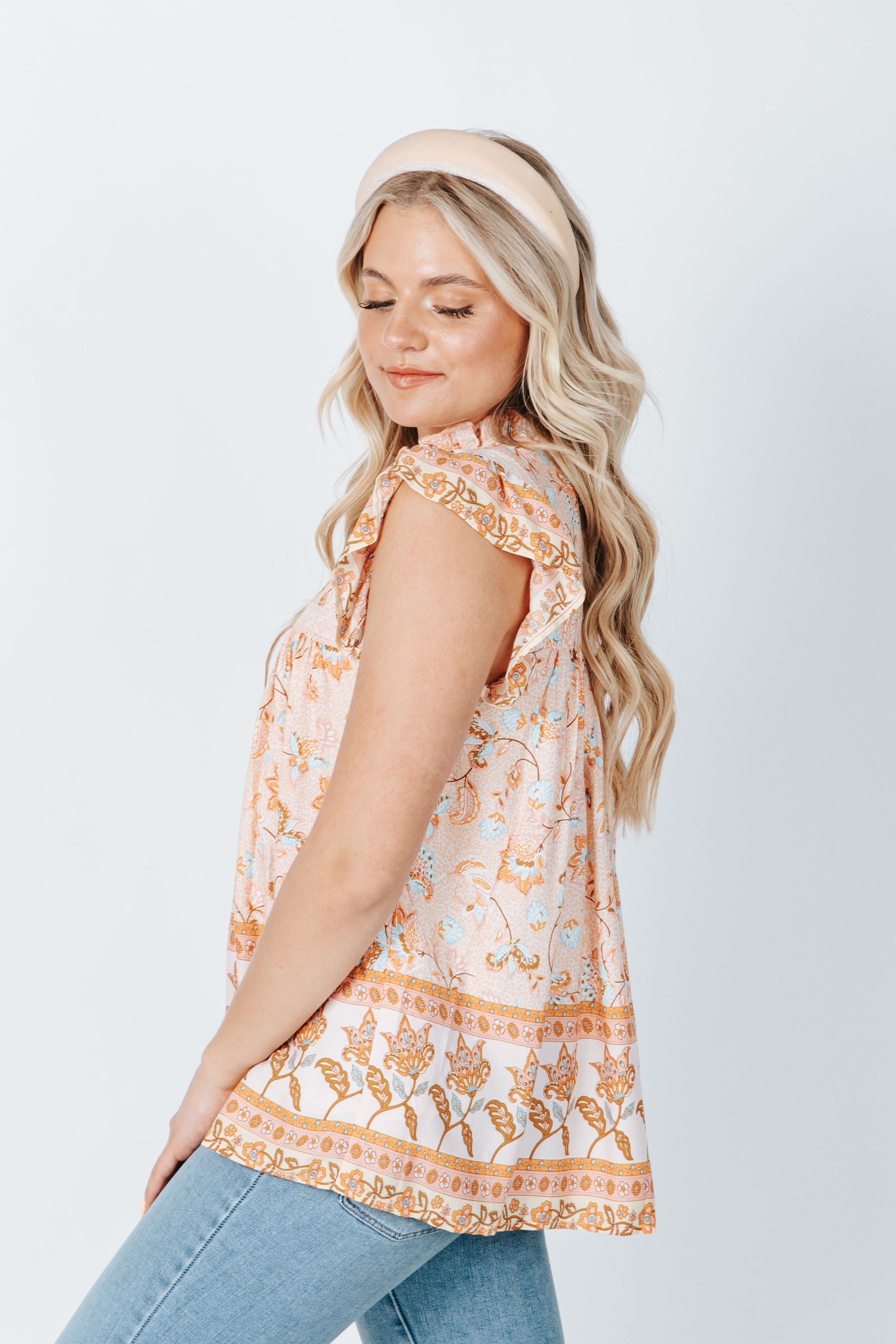 The Kersey Eyelet Lace Dress in Natural