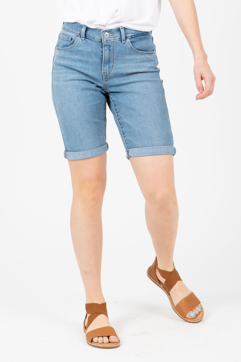 Levi's: Bermuda Shorts in Forever Light