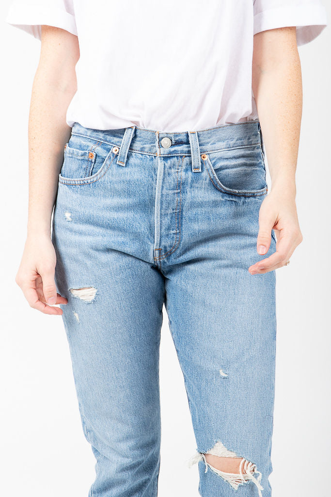 Levi's: 501 Skinny Jeans in Can't Touch This