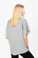 The Mehr Button Up Blouse in Sage