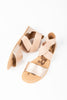 SOREL: Ella Sandal in Warm Gold