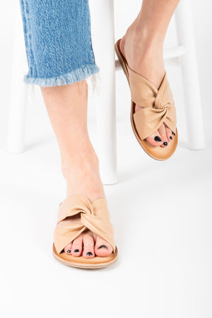 Coconuts by Matisse: Mirage Slide Sandal in Natural