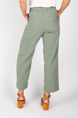 The Twig Trouser in Olive