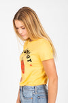 The Knockout Graphic Tee in Sunburst