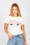 The Beach Bound Graphic Tee in Vintage White