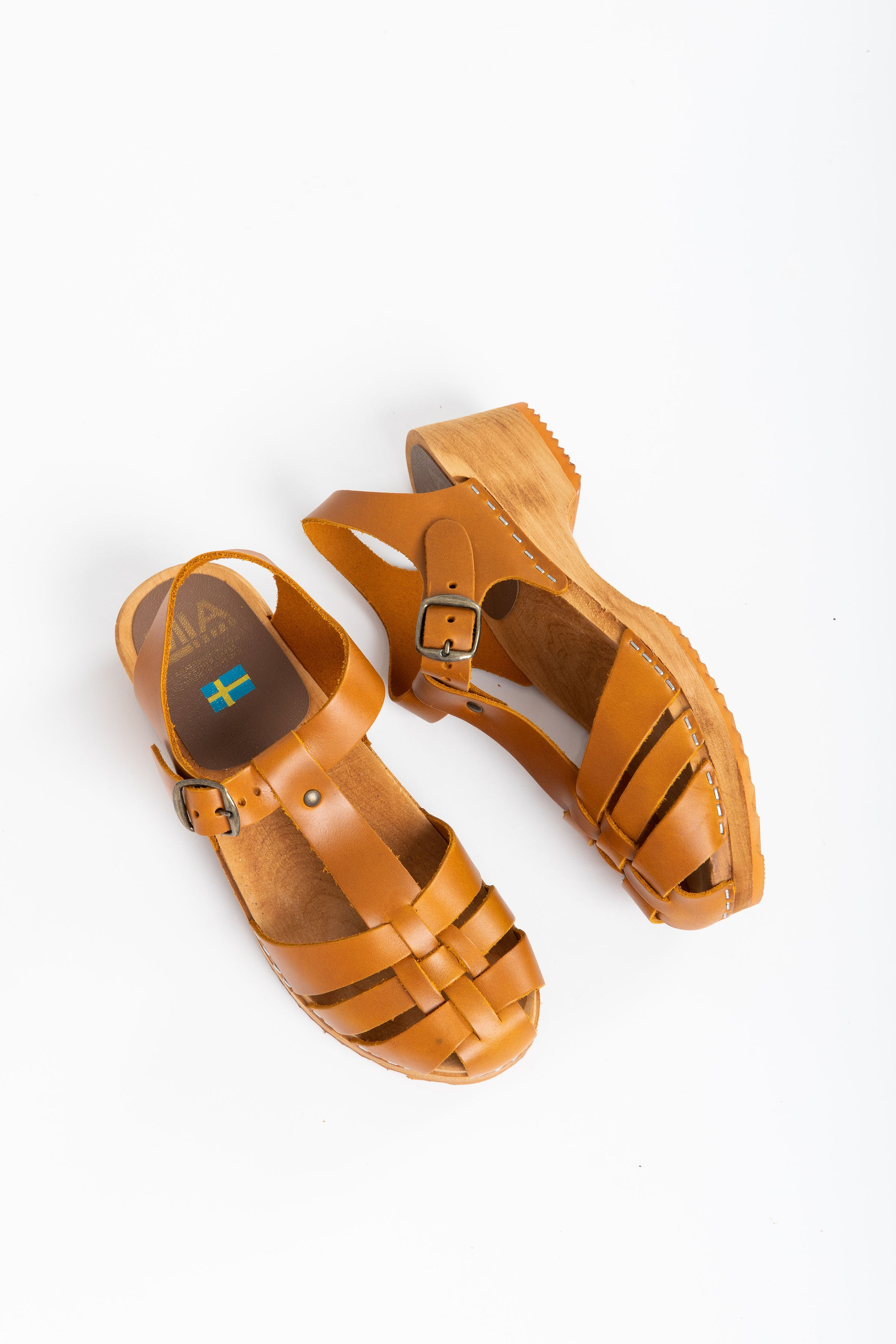 Mia Emilly Clog Sandal In Tan