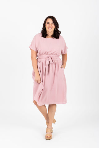 Piper & Scoot: The Lauren Empire Dress in Sage