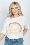The You Are My Sunshine Graphic Tee in White