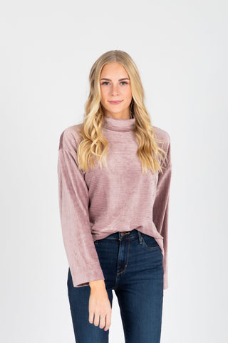 The Trail Crochet Sweater in Pink