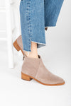 Matisse: Pronto Cut Out Bootie in Blush