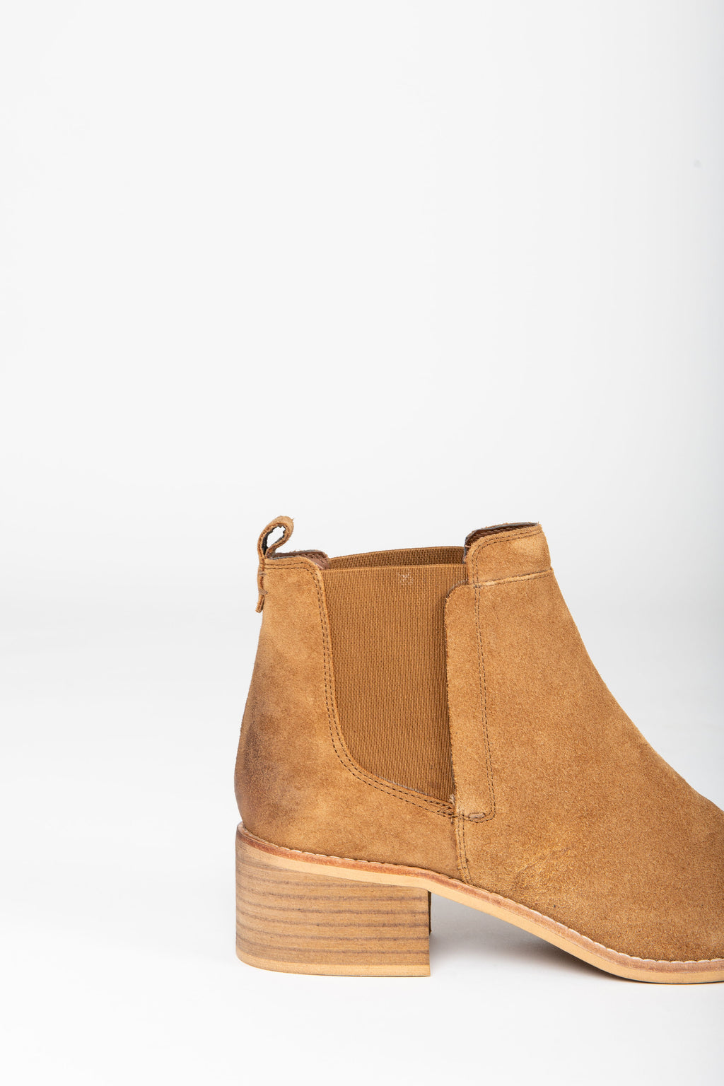 Crevo Footwear: Maeva Boot in Chestnut