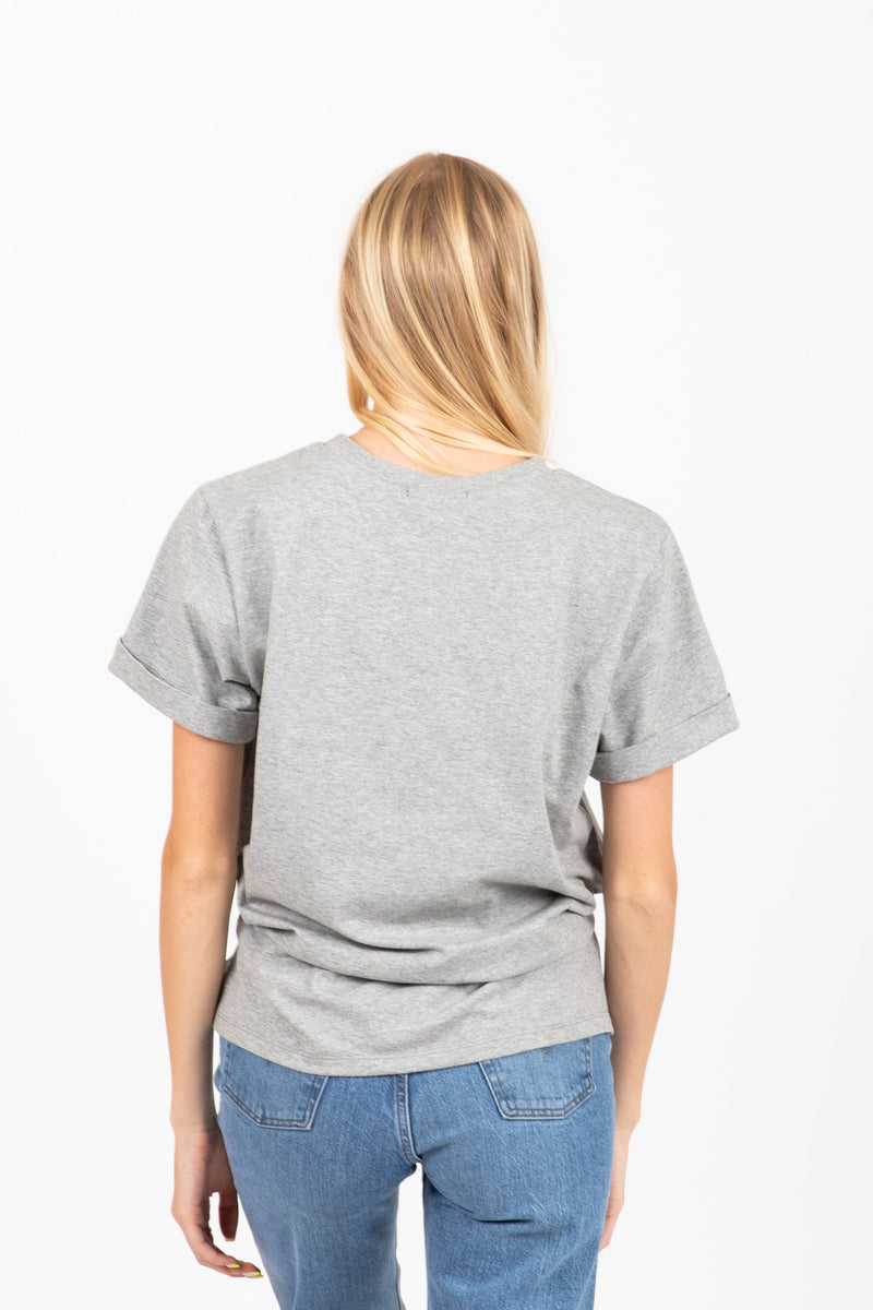 Piper & Scoot: The Tee in Heather Grey