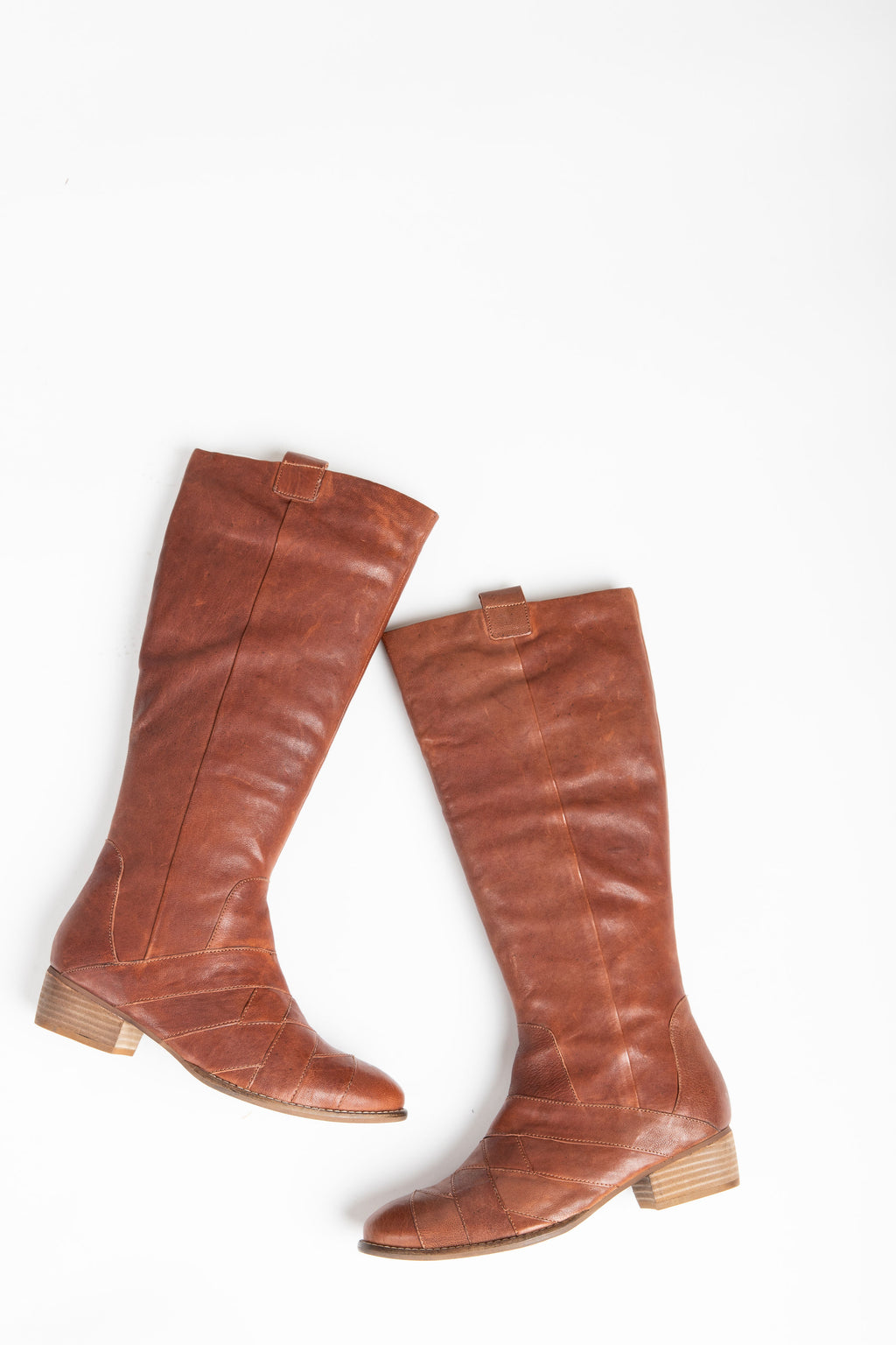 Seychelles: Rally Riding Boot in Cognac