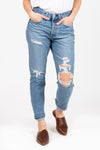 Levi's: 501 Original Customized Jean in Crescent Moon