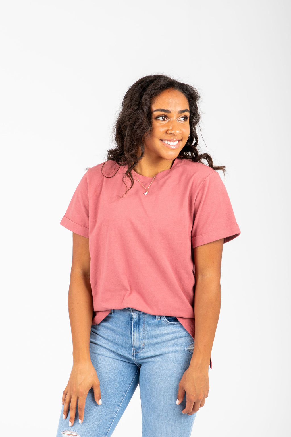 Piper & Scoot: The Tee in Mauve