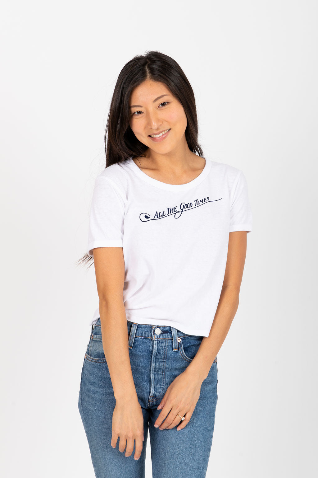 Levi's: Graphic Ringer All The Good Times Tee Shirt