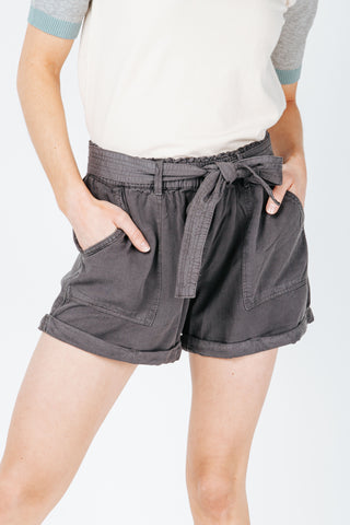 The Berry High Rise Short in Olive