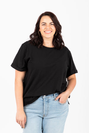 Piper & Scoot: The Tee in Black