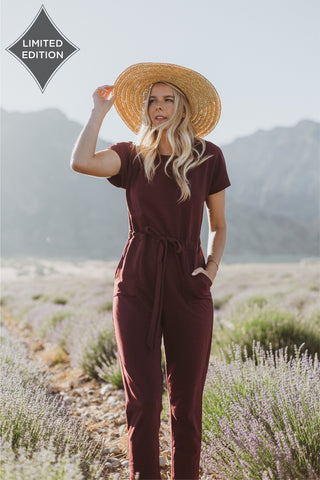 Piper & Scoot: The Lesley Bermuda Jumpsuit in Black