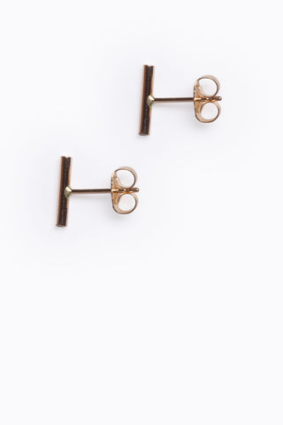 Blonde Tortoise Acrylic Octagon Earrings